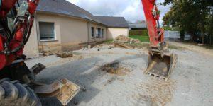 Read more about the article Implantation et début des fondations